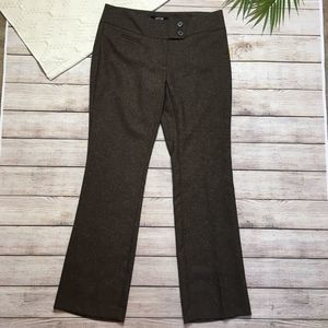 3/$20 Apt 9 Modern Fit Brown Dress Pants 4 Petite